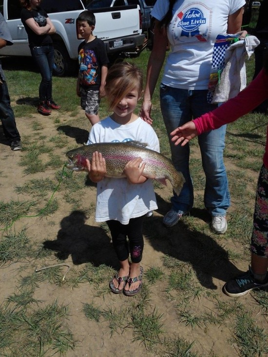 Fishing Derby (7 pound trout) - 2014 (DeArlene Hughes-Wiggins)
