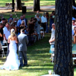 Outdoor Wedding in the Oak Grove