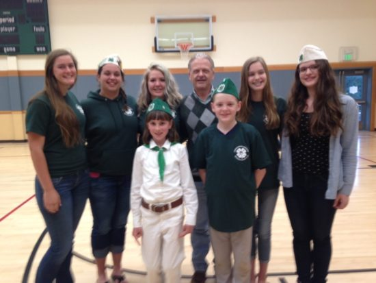 Rea with Chicago Park 4H Club