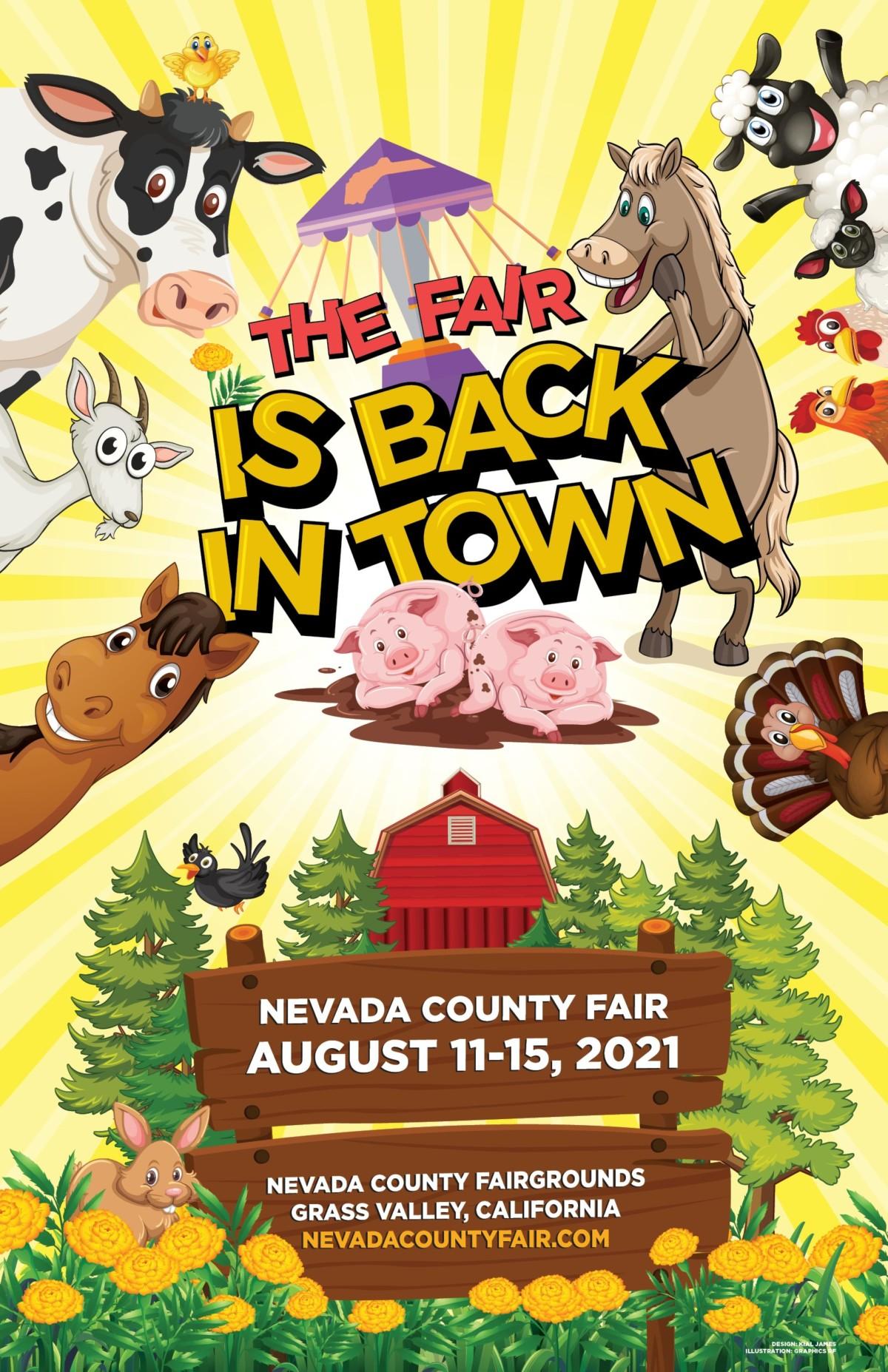 Nevada County Fair, August 11-15, 2021